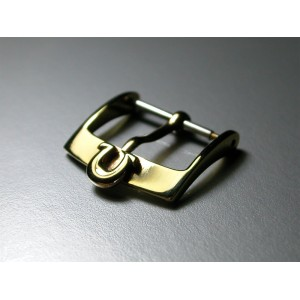 Omega solid 18K yellow gold 16mm buckle (big logo model)